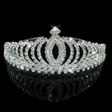 韩国儿童水晶镶钻皇冠公主头饰