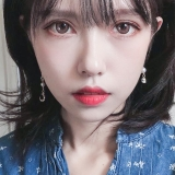 韩国星月珍珠长款不对称镶钻ins网红气质耳夹