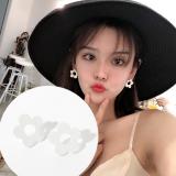韩国个性花朵超仙永生花森系网红耳钉